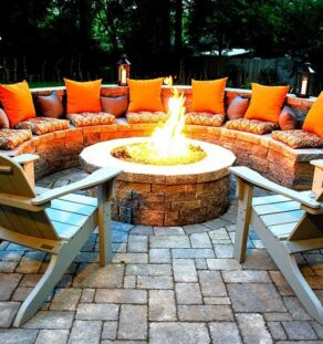 Outdoor Fire Pits-Denton TX Professional Landscapers & Outdoor Living Designs-We offer Landscape Design, Outdoor Patios & Pergolas, Outdoor Living Spaces, Stonescapes, Residential & Commercial Landscaping, Irrigation Installation & Repairs, Drainage Systems, Landscape Lighting, Outdoor Living Spaces, Tree Service, Lawn Service, and more.